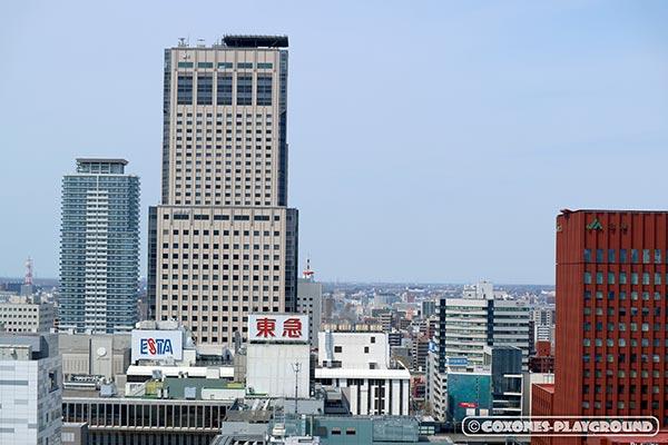 JRタワーの拡大写真