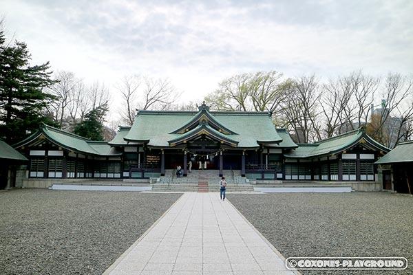 札幌護国神社本殿