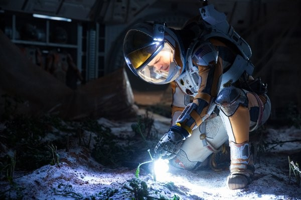 火星でジャガイモの栽培