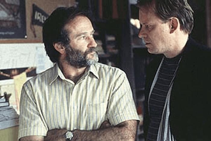 ジェラルド・ランボー教授と心理学者のショーン
