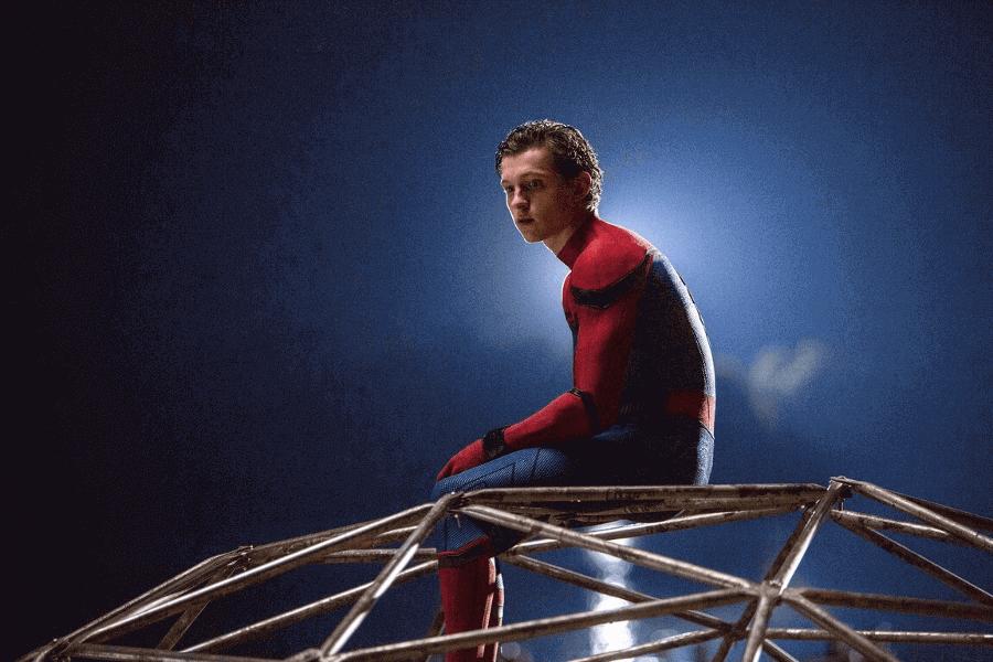 トム・ホランドが演じるスパイダーマン