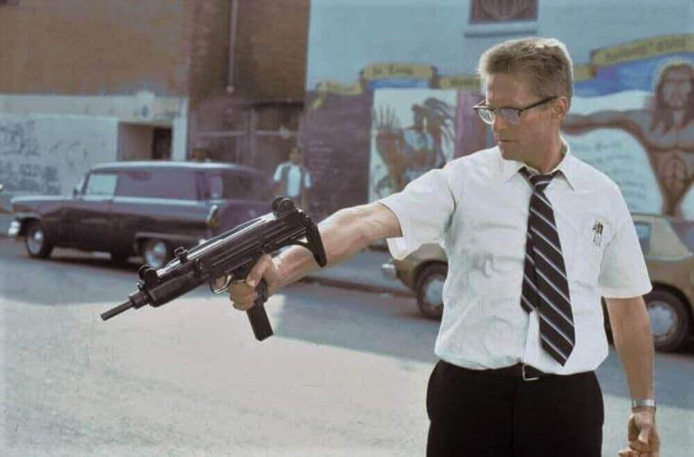 銃を構える D-Fens