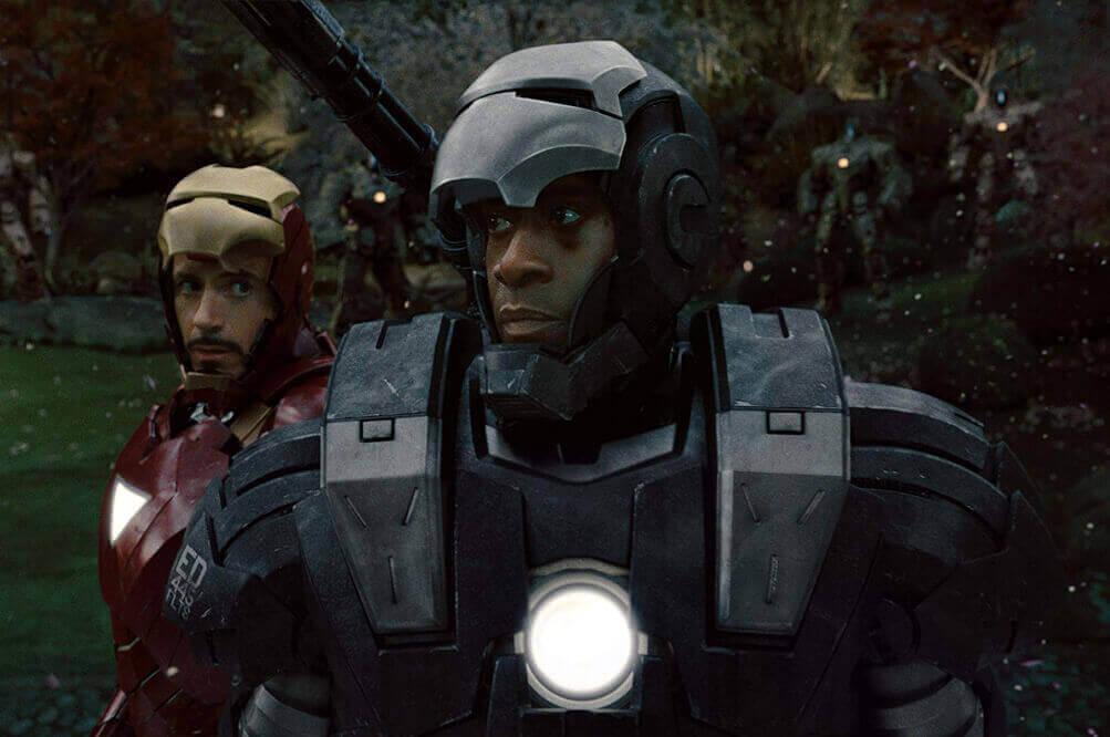 アイアンマンとウォーマシン