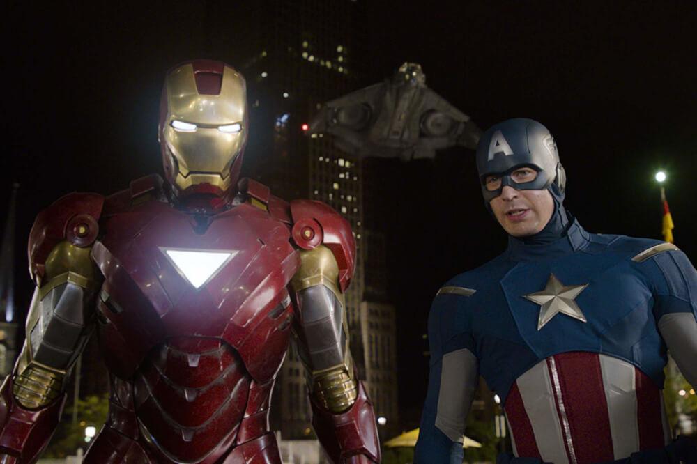 アイアンマンとキャプテン・アメリカ