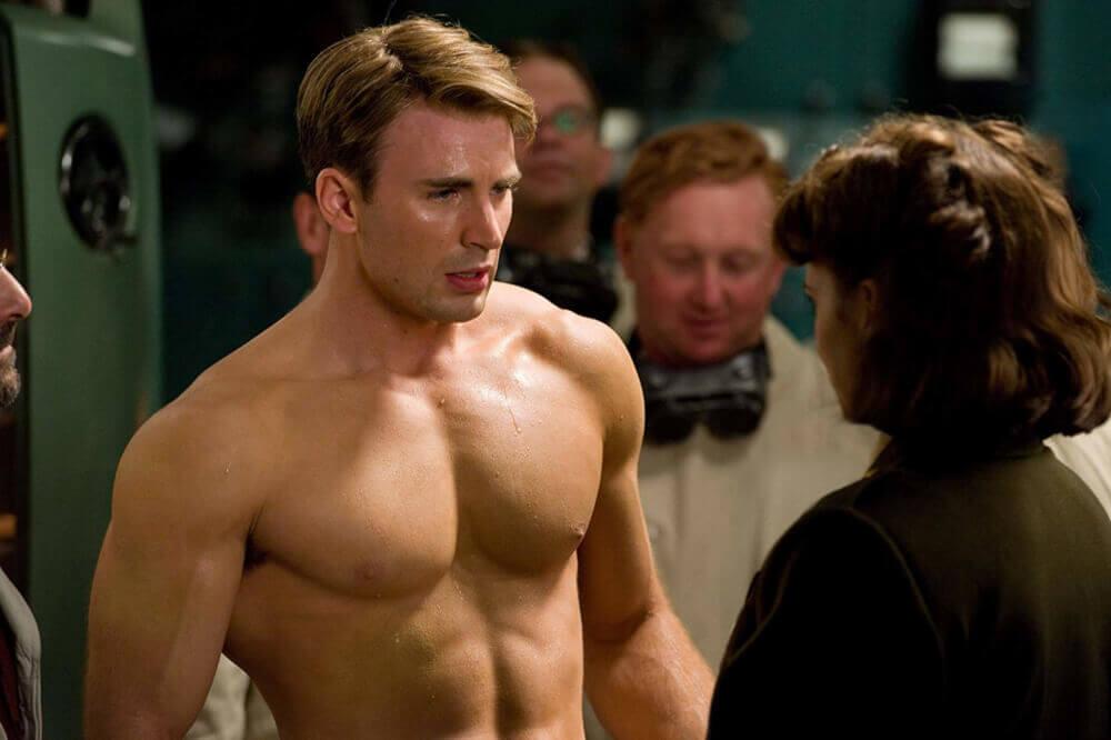 超人になったスティーブ