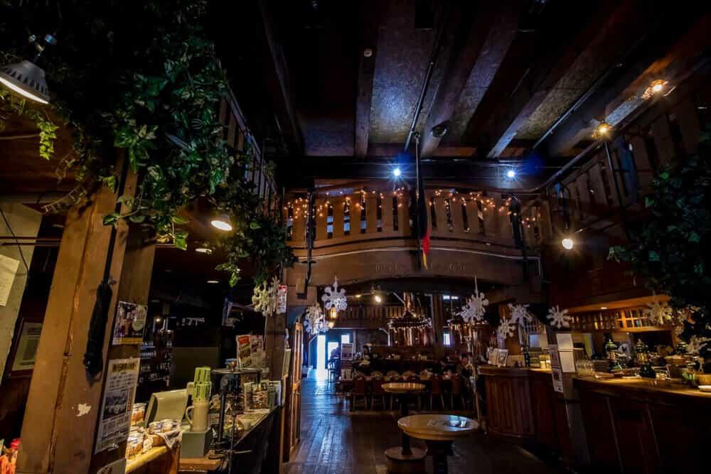 小樽ビール店内
