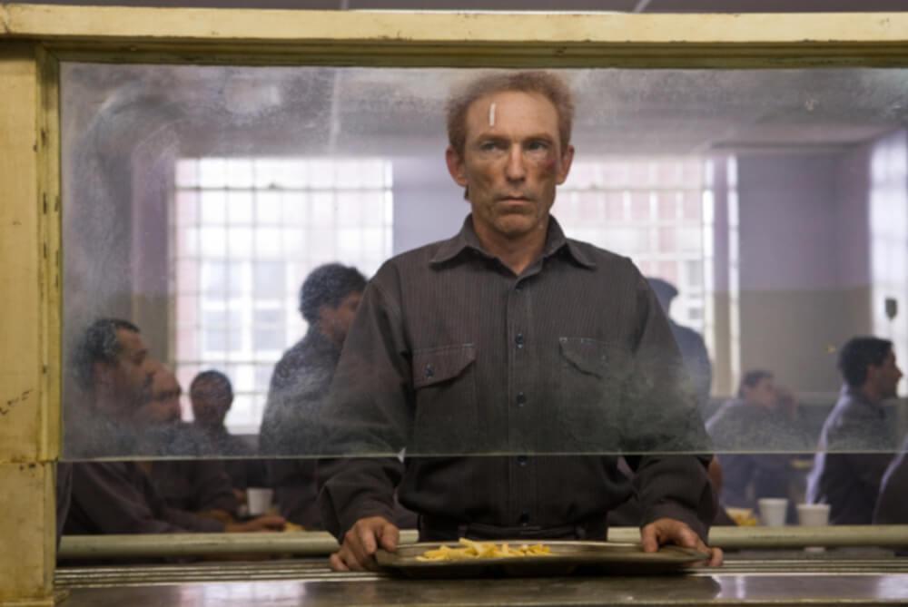 刑務所にいるロールシャッハ