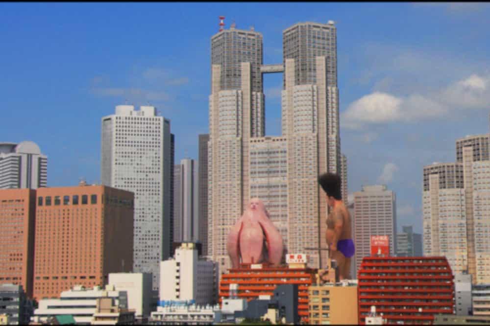 大日本人と獣